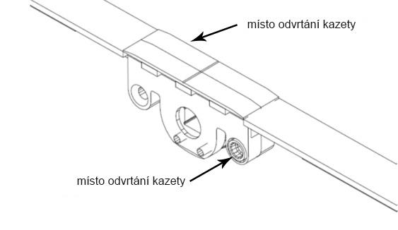 autoPilot-místo odvrtání kazety